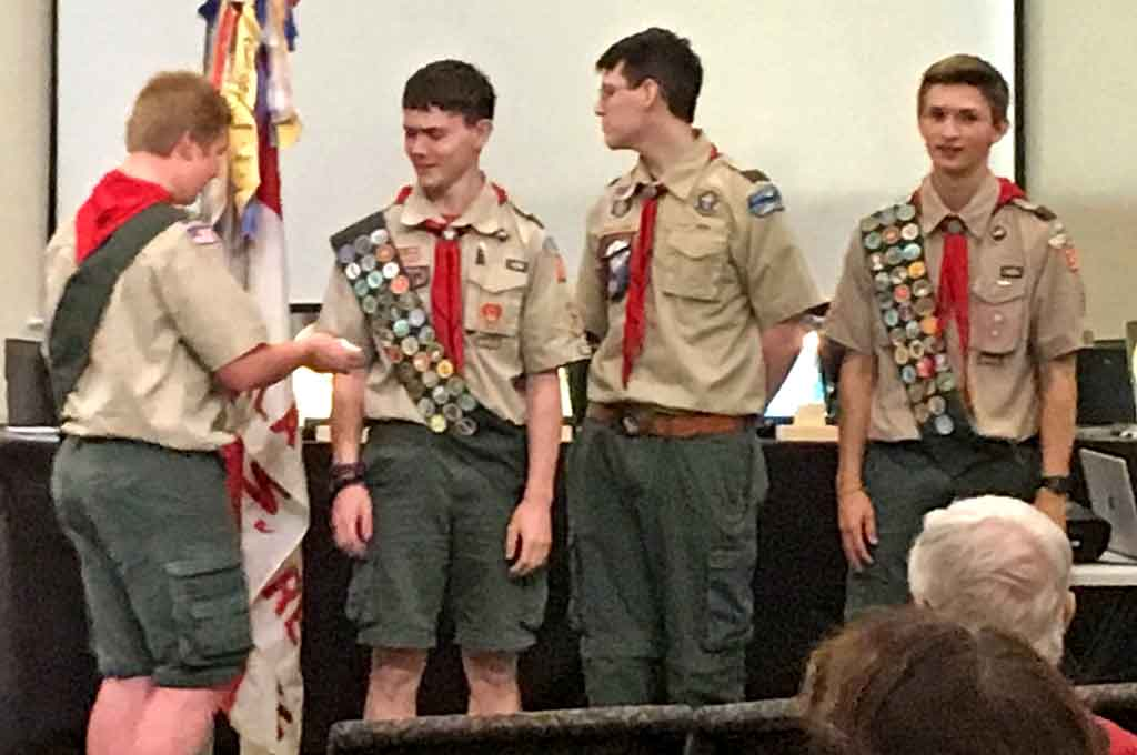 Eagle Candidate Joseph Timm S Lication For Rank Was Roved By Troop 149 Board Of Review On June 18 2018 Thus Being The 124th Scout