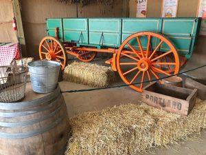 lee farms historic farm wagon, tualatin historical society