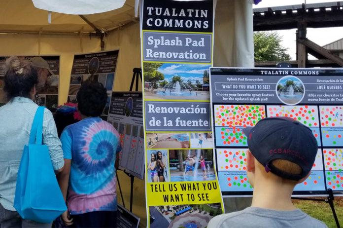 splash pad renovation