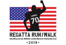 Regatta Run, Cpl Matthew Lembke Memorial Scholarship