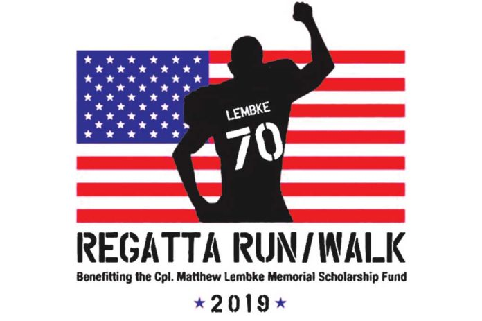 Regatta Run, Cpl Matthew Lembke Memorial Scholarship