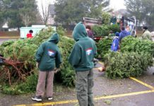 Tualatin Scouts, Holiday Season, Christmas Tree