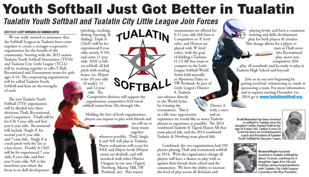 Tualatin Softball 2