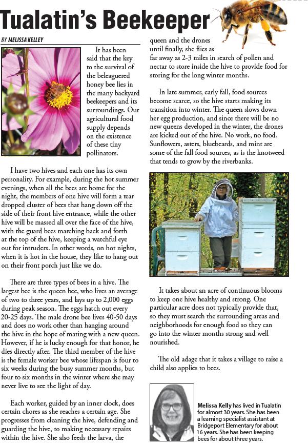 Tualatins Beekeeper