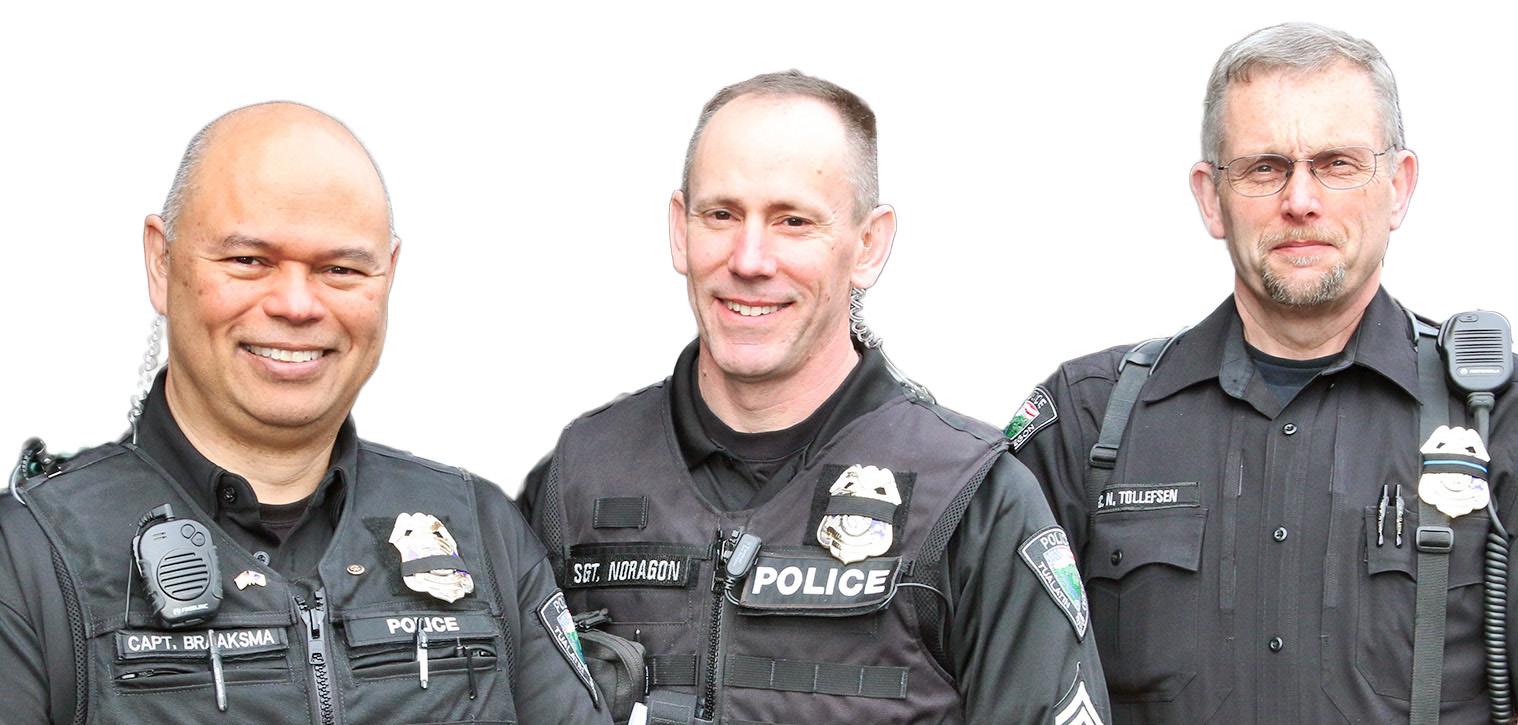 Three Veteran Tualatin Police Officers to Retire