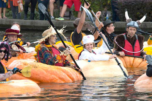Pumpkin Regatta in Tualatin, October 15, 2016