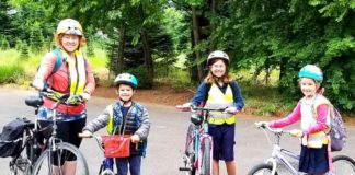 biking in tualatin
