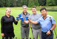 "Tualatin Chamber ""Swing for the Wolves"" Crawdaddy golf classic."