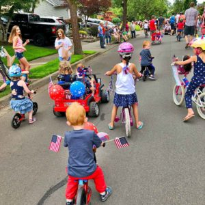 Tualatin Fox Hills Fourth of July Community Parade