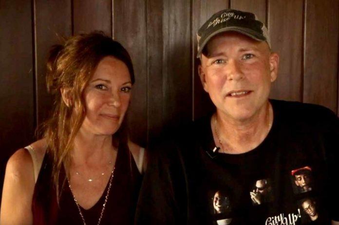 Carolyn Eaton and Dean Doeling.