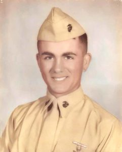 Hal re-enlisted in Marines in 1963 as a Lance Corporal and like thousands of others, was sent to Vietnam.