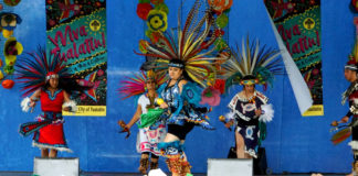 Danza Azteca, viva tualatin, arts and culture tualatin, artsplash