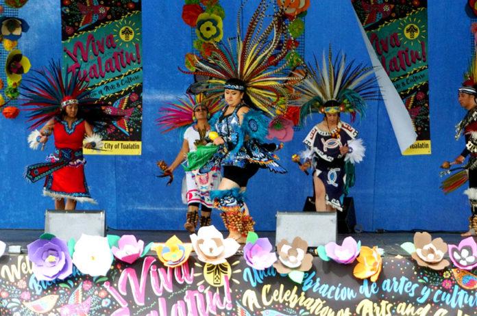 Danza Azteca, viva tualatin, arts and culture tualatin, artsplash