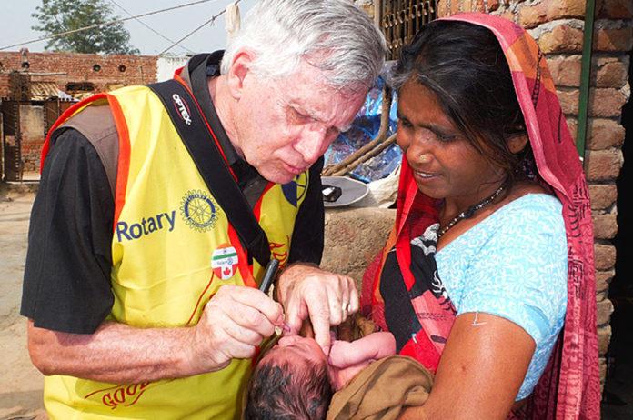 tualatin rotary club, pancakes for polio, polio eradication