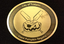 giant pumpkin regatta medallion