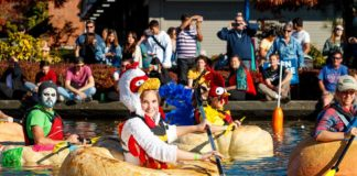 City of Tualatin's 16th Annual West Coast Giant Pumpkin Regatta. Photo by Eric Hermann.