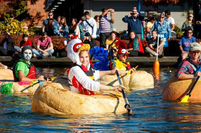 City of Tualatin's 16th Annual West Coast Giant Pumpkin Regatta. Photo by Eric Hermann.