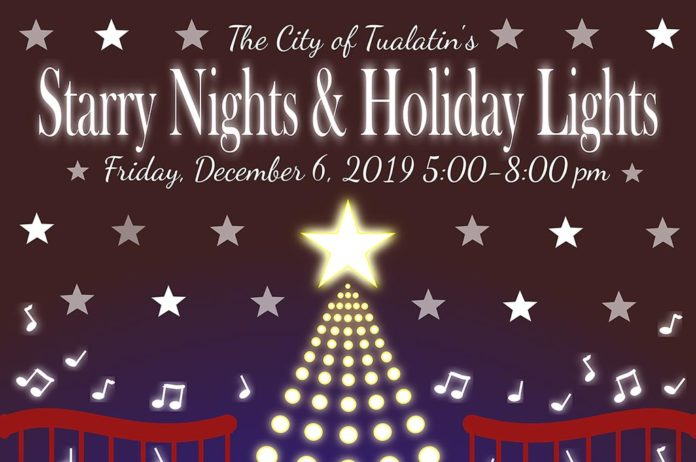 Tualatin Commons, City of Tualatin, Starry Nights and Holiday Lights