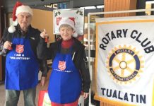 Tualatin Rotary, Holiday Season