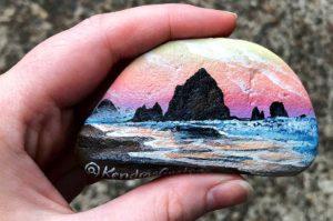 Kendra's Customs Haystack Rock