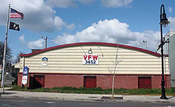 Old VFW Building.