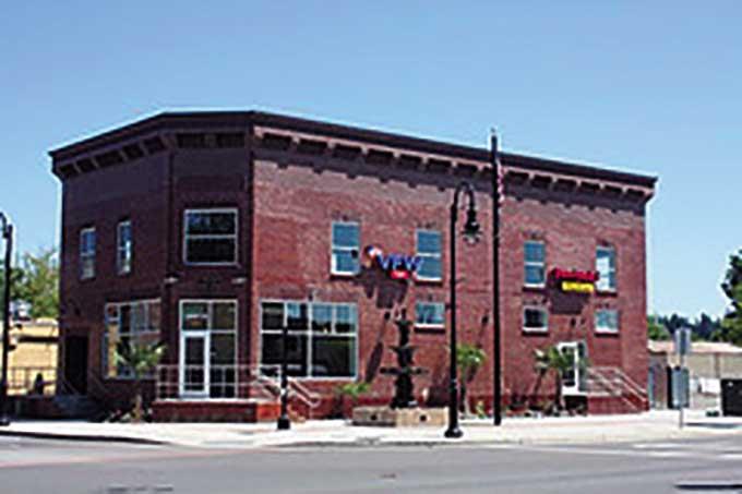 New VFW Building.