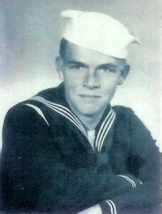 Wayne Sparks was a sailor in World War II.