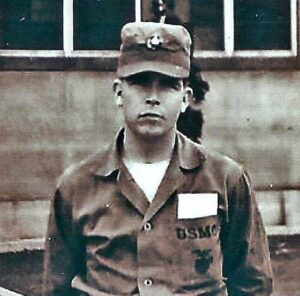 Wayne recovering in Hospital in Japan from Chosin Campaign including loss of hearing.